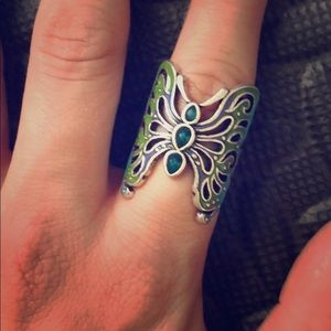 Lucky brand butterfly ring